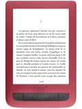 TEA - Liseuse éclairée Touch Lux 3 rouge TEA.