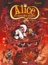 Tébo et Nicolas Keramidas - Alice au pays des singes Tome 3 : .