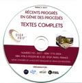 SFGP - 16e Congrès de la Société Française de Génie des Procédés - 11-13 juillet 2017, Nancy. 1 Cédérom