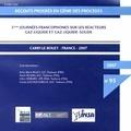 Anne-Marie Billet et Henri Delmas - 5e Journées francophones sur les réacteurs Gaz-Liquide et Gaz-Liquide-Solide, Carry-le-Rouet, France, 2007. 1 Cédérom