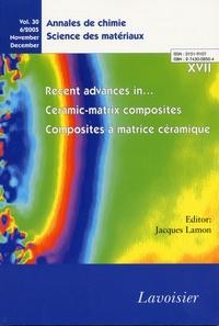 Annales de chimie - Science des matériaux N°30, n°6/2005 Novem.pdf