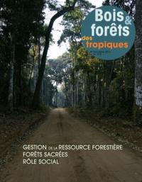Bois & forêts des tropiques N° 310, 4e trimestre.pdf