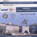 Marie-Noëlle Pons - Cristal 5 - Cristallisation et précipitation industrielles, Lyon, 22 et 23 mai 2008 - CD-ROM.