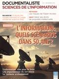 Anne-Marie Libmann et Véronique Mesguich - Documentaliste Sciences de l'information N° 4, Décembre 2013 : L'information : quels scénarios dans 50 ans ?.