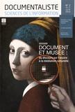 ADBS - Documentaliste Sciences de l'information Volume 51 N° 2, Juin : Document et musée : du discours sur l'oeuvre à la médiation culturelle.