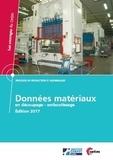 Joël Kaufmann - Données matériaux en découpage-emboutissage. 1 Cédérom