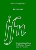 IFN - Dossiers scientifiques de l'Institut Français pour la Nutrition N° 5 : Les vitamines.