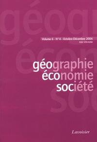 Carlo Vercellone et Andrée Matteaccioli - Géographie, économie, société Volume 6 N° 4, Octob : .