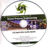 Anonyme - Gpe 2014 - 4th international congress Green Process Engineering, 7-10 April, Sevilla.