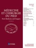 Didier Mainard - Médecine et chirurgie du pied Volume 34 N° 1, mars : .