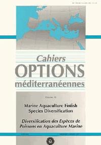 CIHEAM - Options méditerranéennes  : Diversification des espèces de poissons en aquaculture.