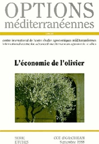 CIHEAM - Options méditerranéennes  : L'économie de l'olivier.
