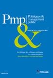 Madina Rival et Jean-Claude Ruano-Borbalan - Politiques & management public Volume 34 N°1-2, Jan : La fabrique des politiques publiques - Une construction plurielle.