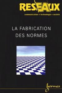 Benoît Lelong et Alexandre Mallard - Réseaux N° 102/2000 : La fabrication des normes.