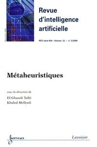 Revue dIntelligence Artificielle RSTI Volume 22 N° 2, Mars.pdf