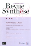 Eric Brian - Revue de synthèse Tome 133 N° 3/2012 : Heuristique des langues.