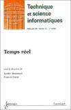 Zoubir Mammeri et Francis Cottet - Revue des Sciences et Technologies de l'Information Volume 22 N° 5/2003 : Temps réel.