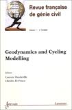 Laurent Daudeville et Claudio Di Prisco - Revue française de génie civil Volume 7 - N° 7-8/20 : Geodynamics and Cyclic Modelling.