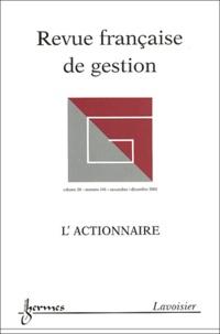 Michel Albouy et José Allouche - Revue française de gestion N° 141 Novembre-Déce : L'actionnaire.
