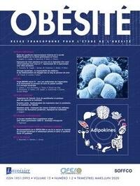 Lavoisier - Revue francophone pour l'étude de l'obésité Volume 15 N°1-2, mar : .