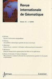 Revue internationale de géomatique Volume 13 N° 4/2003.pdf