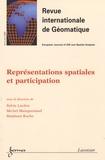 Sylvie Lardon et Michel Mainguenaud - Revue internationale de géomatique Volume 16 N° 2/2006 : Représentations spatiales et participation.