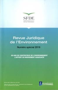Agnès Michelot - Revue juridique de l'Environnement Numéro spécial 2019 : 50 ans de contentieux de l'environnement - L'apport du mouvement associatif.