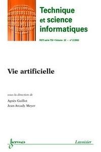 Agnès Guillot - Technique et science informatiques Volume 22 N° 2/2003 : Vie artificielle.