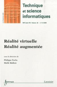 Philippe Fuchs et Malik Mallem - Technique et science informatiques Volume 28 N° 6-7, ju : Réalité virtuelle, réalité augmentée.