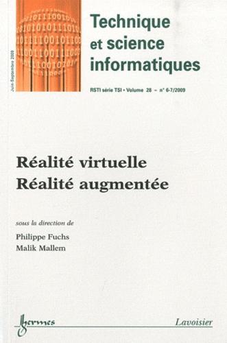Technique et science informatiques Volume 28 N° 6-7, ju Réalité virtuelle, réalité augmentée