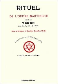 Téder - Rituel de l'ordre martiniste.