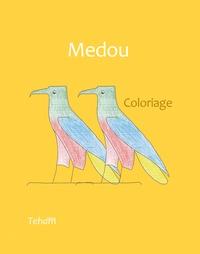 Teham - Medou, coloriage.