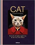 Tein Lucasson - Cat - Portraits of Eighty-Eight Cats & One Very Wise Zebra.