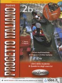 Telis Marin et Sandro Magnelli - Nuovo Progetto italiano 2b - Corso multimediale di lingua e civiltà italiana - Libro dello studente. 1 DVD + 1 CD audio