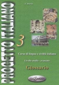 Deedr.fr Progetto italiano 3 glossario - Corso di lingua e civilta italiana, Livello medio-avanzato Image