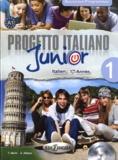 Telis Marin et A Albano - Progetto italiano Junior 1 - Italien 1re année. 1 CD audio