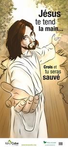 Guy Saint-Pierre - Poster Jésus te tend la main....
