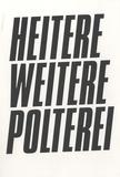 Tere Recarens et Mari Laanemets - Heitere weitere polterei.