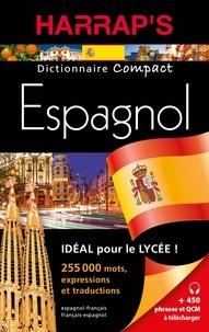 Teresa Alvarez et Fanny Jacquot - Dictionnaire Harrap's compact français-espagnol/espagnol-français.