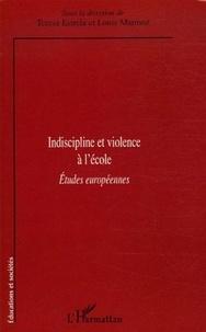 Teresa Estrela - Indiscipline et violence à l'école - Etudes européennes.