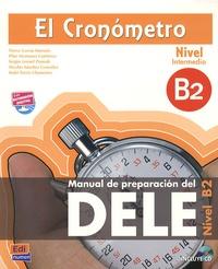 Deedr.fr El Cronometro, Manuel de preparacion del DELE - Nivel B2 Intermedio Image