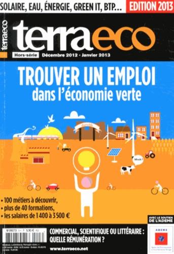 Walter Bouvais - Terra eco Hors-série Décembre  : Trouver un emploi dans l'économie verte.