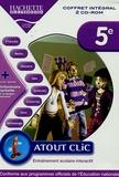 Hachette Multimédia - Atout clic 5ème coffret intégral - 2 CD-ROM.