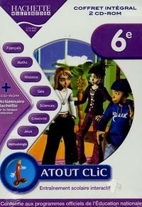 Hachette Multimédia - Coffret intégral atout clic 6ème. - 2 CD-ROM.