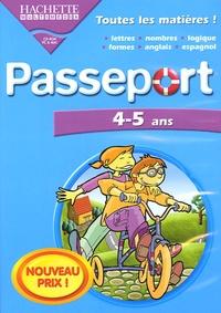 Hachette Multimédia - Passeport 4-5 ans. - CD-ROM.