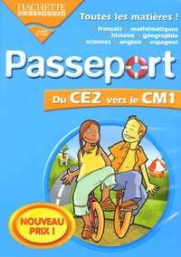 Hachette Multimédia - Passeport de CE vers le CM1. - CD-ROM.