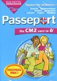Hachette Multimédia - Passeport du CM2 vers la 6e - CD-ROM.