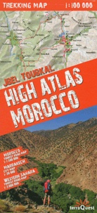 Feriasdhiver.fr High Atlas Morocco - Jbel Toubkal 1/100 000 Image