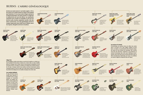 Guitares, l'encyclopédie ultime. Fender, Gibson, Gretsch, Martin, Rickenbacker...