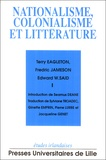 Terry Eagleton - Nationalisme, colonialisme et littérature.